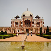 Humayun's Tomb in Delhi, UNESCO World Heritage Site, in Delhi