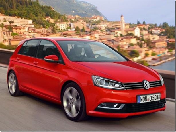 2013-Volkswagen-Golf-Mk7-render