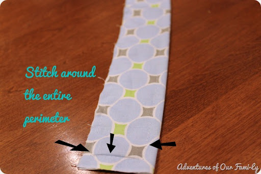 quiet book strap instructions