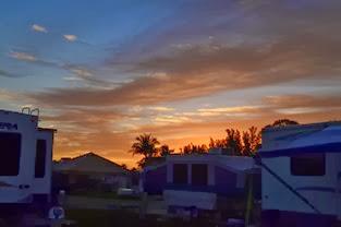 sunrise at the KOA