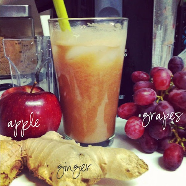 ginger apple grape juice