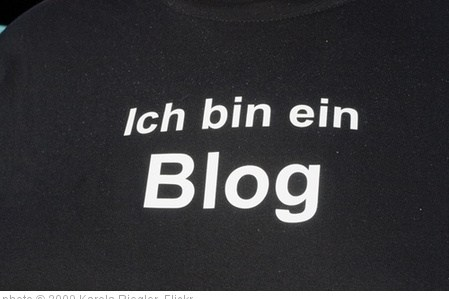 'Ich bin ein Blog' photo (c) 2009, Karola Riegler - license: http://creativecommons.org/licenses/by-nd/2.0/