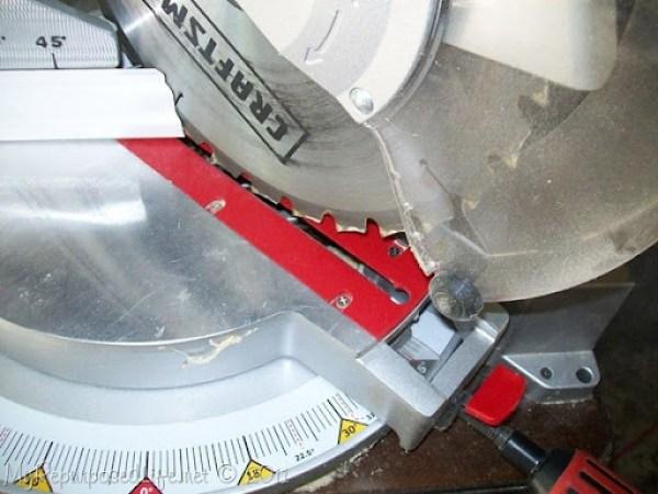 using a miter saw
