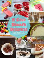 15 Cold Summer Desserts