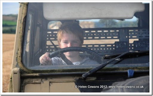 Ric driving Daisy2