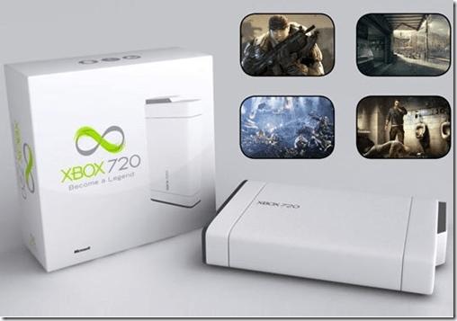 Imagem não oficial do XBOX 720