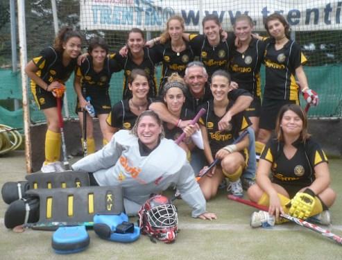 Prima vittoria della prima squadra femminile.