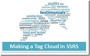 SSRS Tag Cloud