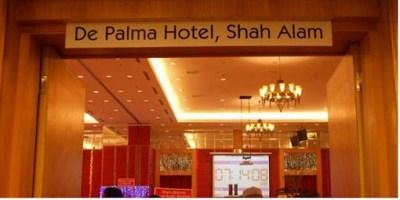 Buffet Ramadhan De Palma Hotel Shah Alam - pintu masuk ballroom