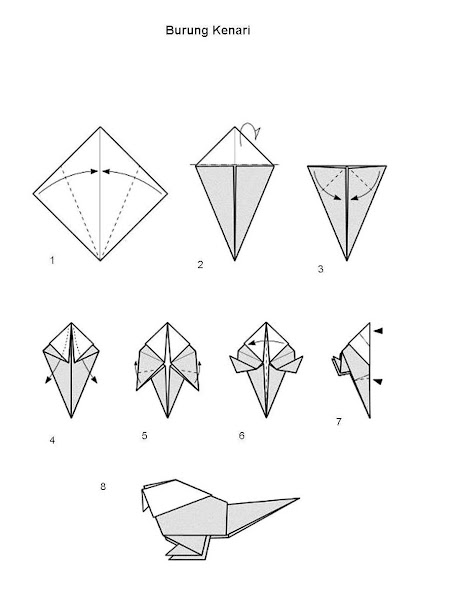 Origami Dinosaurs, a list of online, origami-dinosaur diagrams ... | 600x454