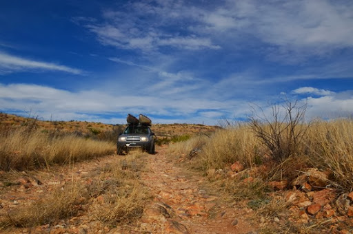 high clearance road to Painted Gap