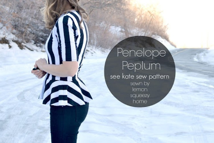 Penelope Peplum