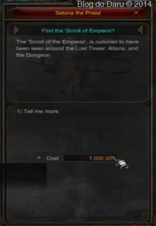 Você vai ter o custo de Zen 1,000.000 Milhão