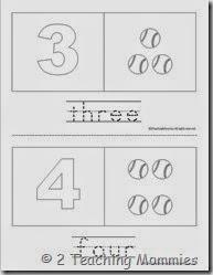 Baseball Counting Book1