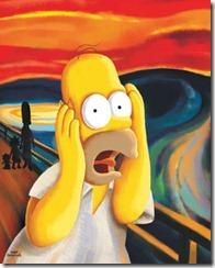 The Scream - Homer