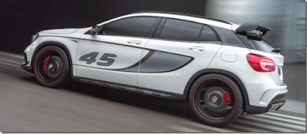 GLA 45 AMG Concept