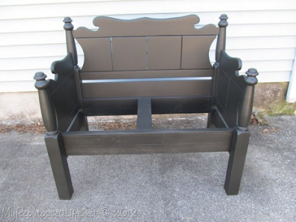 Twin bed-bench upholstered (37)