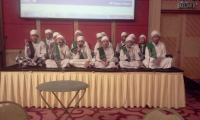 Buffet ramadhan di de palma hotel - qasidah