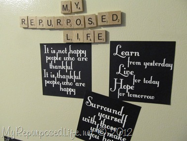 repurposed advertiser magnets
