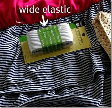 wide elastic