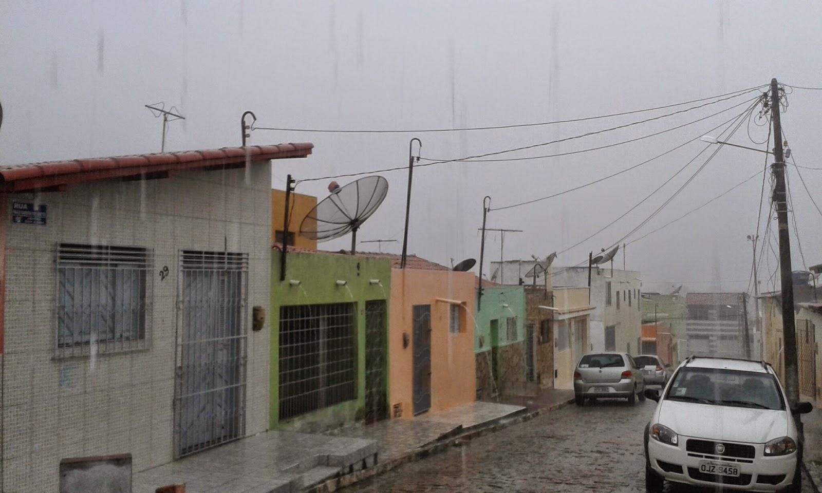 FOTO: Chove em São Paulo do Potengi nesse momento - Diário do Potengi
