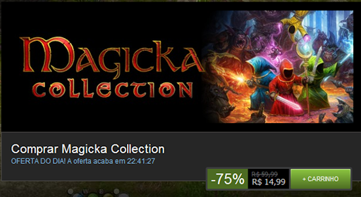 Promoção: Magicka Collection na Steam
