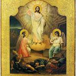 Воскресение Христово. Палех. XIXв.jpg