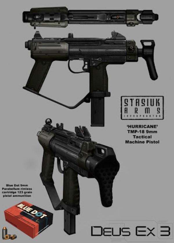 Deus Ex Machine Pistol