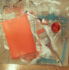 I get to play with paint today! #work #paint