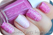 Lovelaquerchallenge Essie Madison Ave-Hue Flower Power Nailart Pink (5 von 5)