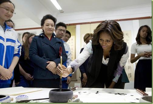 Michelle Obama First Lady Michelle Obama Travels BzniRbpMHGpl
