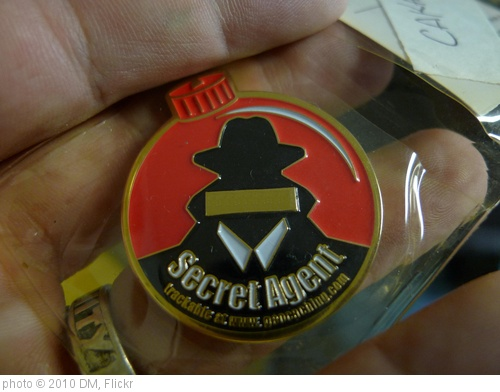 'Secret Agent Geocoin' photo (c) 2010, DM - license: http://creativecommons.org/licenses/by-nd/2.0/