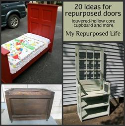 20 ideas for repurposing doors