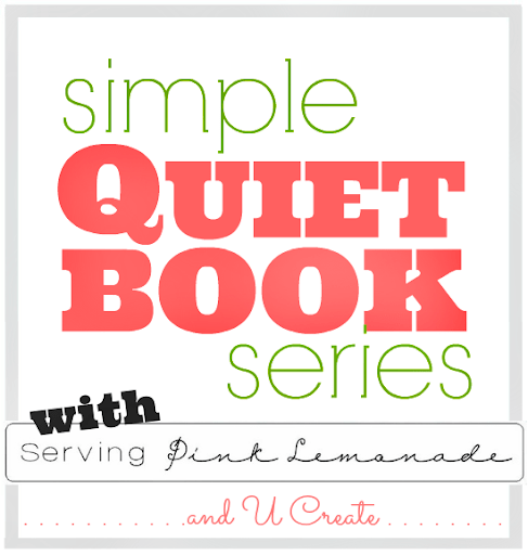Simple Quiet Book Series with Serving Pink Lemonade and U Create! Free template, too!