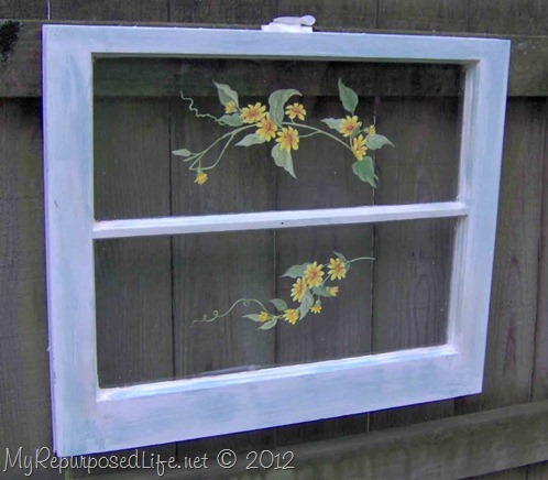 repurposed window