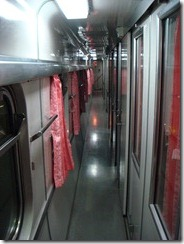 Overnight Train Bangkok Vientiane 1st class