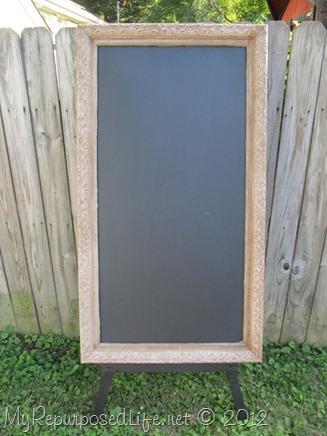 Chalkboard & Display Easel (2)