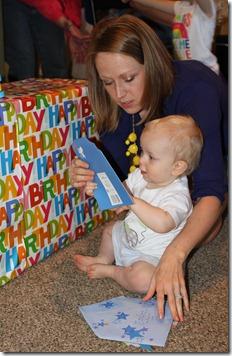 Hayden's first birthday 105