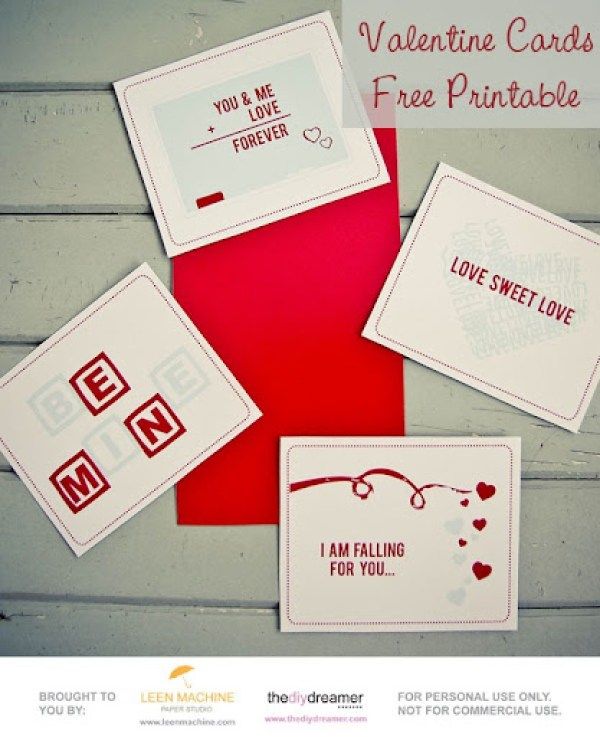 Valentine Cards from DIY Dreamer