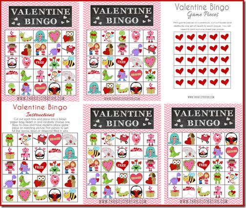 Valentine Bingo Preview1