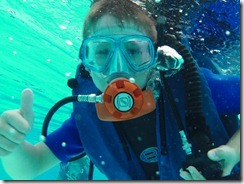 Nicky the diver