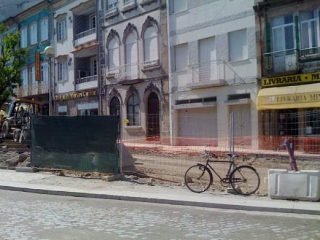 Estacionamento para bicicletas em Braga