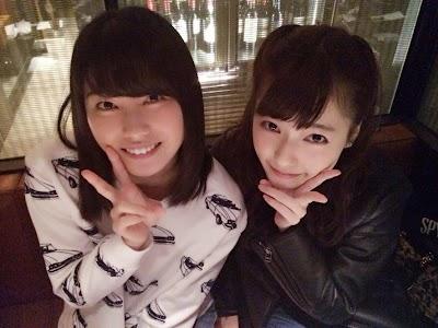 島崎遥香(ぱるる)と横山由依(ゆいはん)