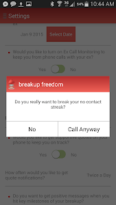 breakup freedom screenshot 2