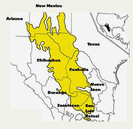 Chihuahuan-Desert-map