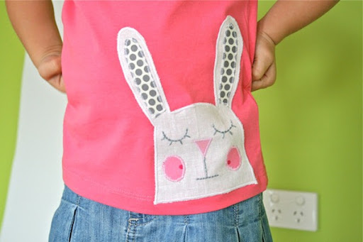 free bunny applique pattern