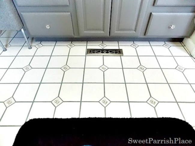 bathroom grout after8