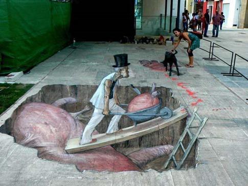 22. Espectacular graffiti callejero