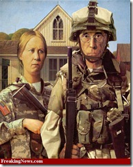 American Gothic - Soldiers