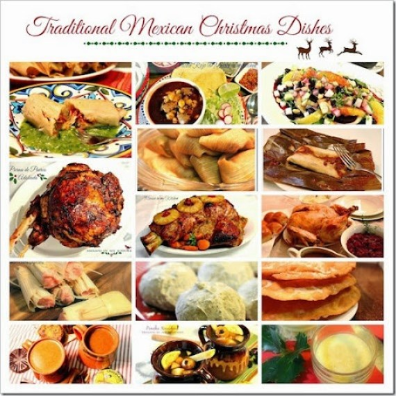 Mexican Christmas dishes